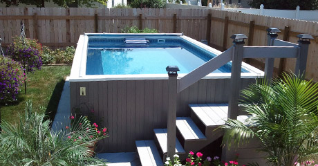 Fastlane Pools Swim Spas Swim Spa Lap Pools