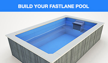 Fastlane pools swim spas swim spa lap pools - How to build a swimming pool yourself ...